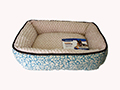 24''X20'' RECTANGULAR BED LOUNGER - TEAL/BEIGE