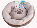 ROUND PAW PRINT BED