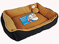 RECTANGULAR BED WITH PLUSH TOY
