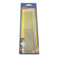 HUNTER 7'' STRAIGHT-BACK COMB - DOUBLE DENTED, LONG MEDIUM/COARSE TEETH