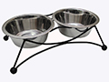 MEDIUM DOUBLE DINER STAINLESS STEEL