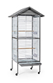 WROUGHT IRON FLIGHT CAGE - 31X25X53''
