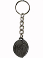 PEWTER KEYCHAIN - LHASSA APSO